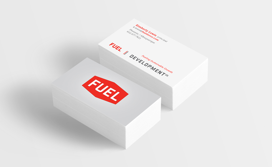 fuel business card