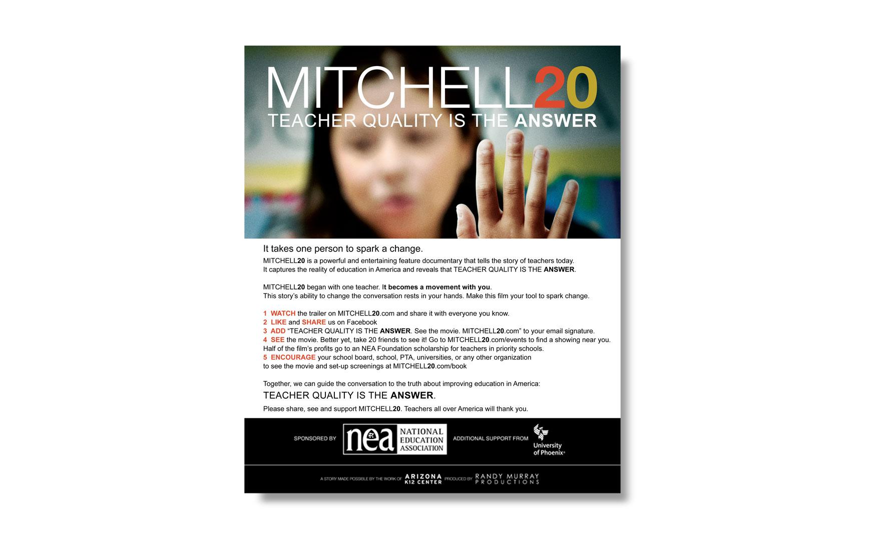 Mitchell 20 Email Blast