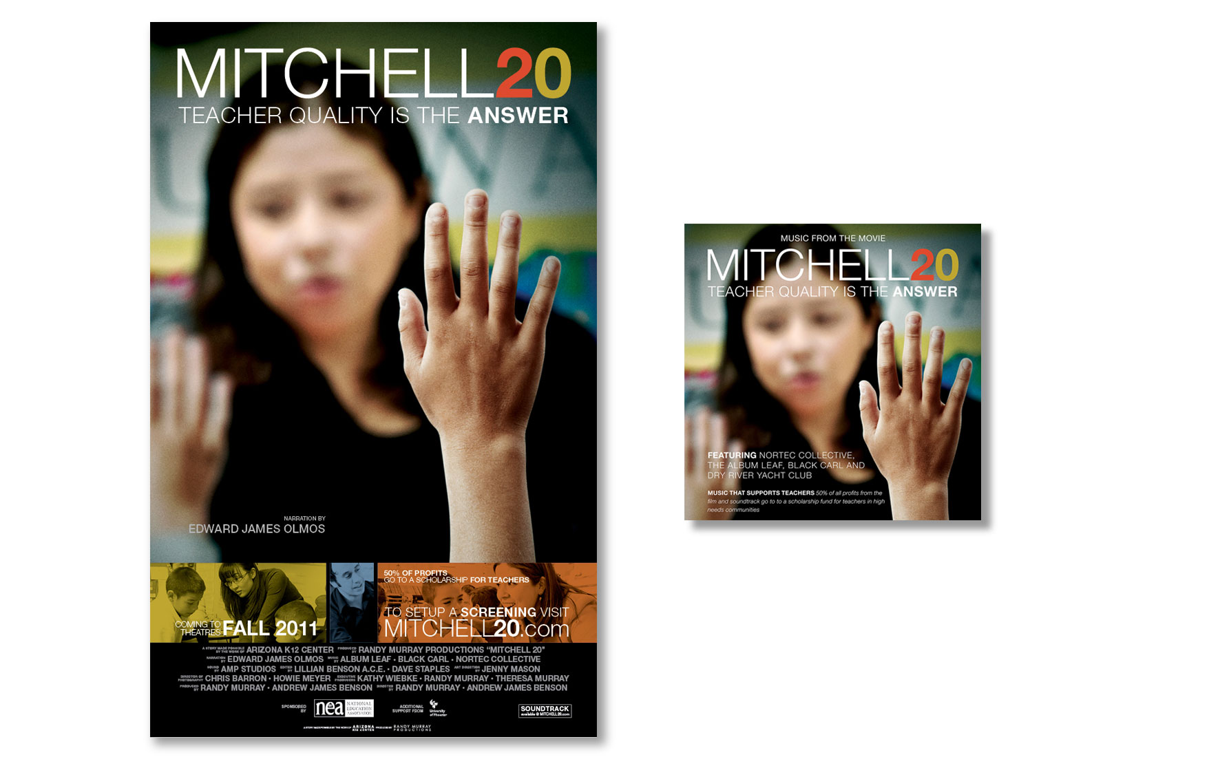 Mitchell 20 Poster and CD Cover